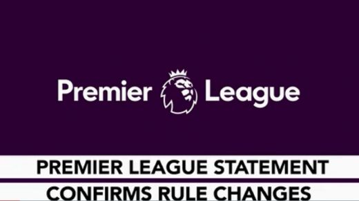 Premier League rule change over substitutes confirmed
