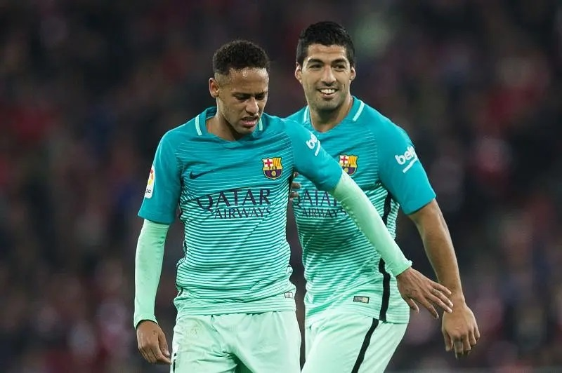 Luis Suarez could reunite with Neymar at Anfield