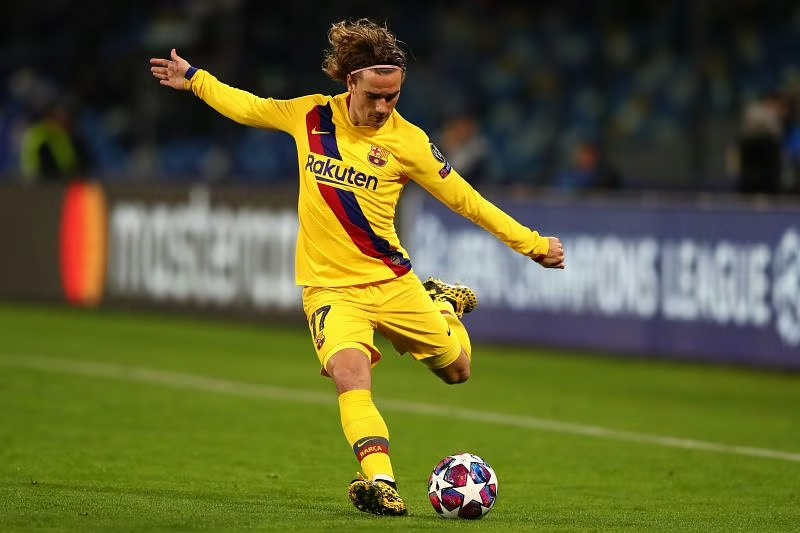 Antoine Griezmann was unable to replicate his Atletico Madrid form for Barcelona
