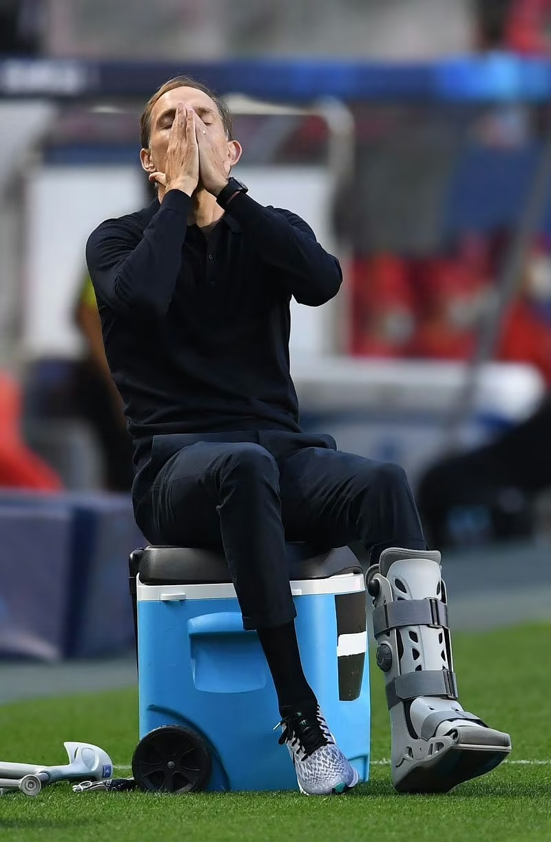 Thomas Tuchel is facing difficulties caused by COVID-19