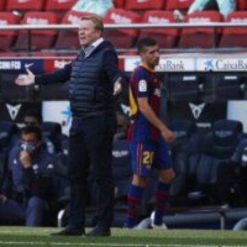 Ronald Koeman offers his verdict on Barcelona's defeat to Atletico